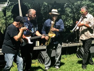 A band performs during Atlanta's Mississippi Picnic.