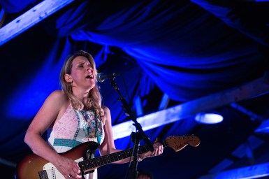 Susan Tedeschi performs at the former cotton storage shed at Dockery Farms.