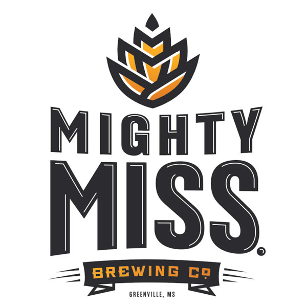 Mighty Mississippi brewing company logo