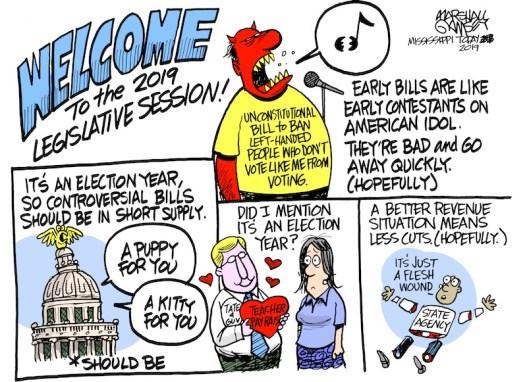 The 2019 Mississippi Legislative Session has begun!
