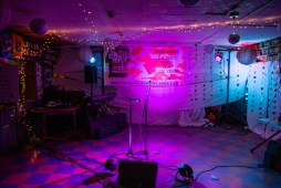 The stage is set for performers at CS's during Jackson Indie Music Week Tuesday, January 15, 2019.