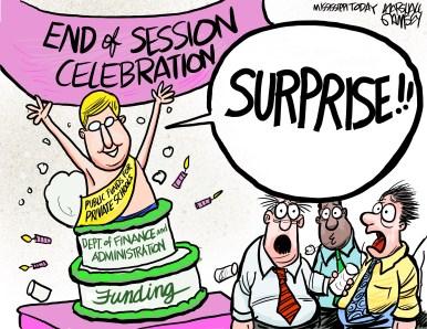Senate leaders slip funding for private school scholarships into unrelated spending bill.