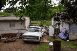 Tchula is located in the among the poorest counties in Mississippi, Holmes County. The flooding of Tchula Lake have worsened living conditions for some residents in the town.