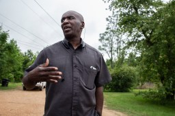 Calvin Head, a farmer in Tchula, Miss., discusses how the recent flooding in the town has affected farmers in the area.