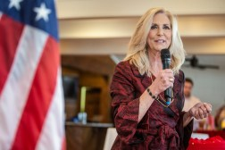 Attorney general candidate Lynn Fitch speaks during the Madison and Hinds County Republican Women candidate forum at The Lake House in Ridgeland, Miss., Monday, August 26, 2019.