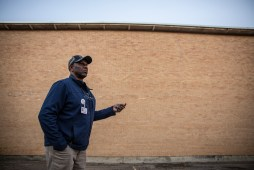 Supervisor of Maintenance Alonzo Washington, talks about the damage schools in Holmes County while outside of Goodman-Pickens Elementary in Goodman, Miss., Thursday, October 31, 2019.