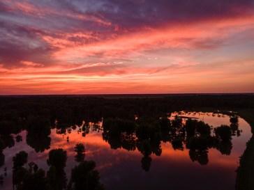 Sunset Reflected — 2020