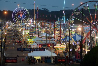 Thursday evening at the 161st Mississippi State Fair.
