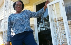 """""""I hope I'm an inspiration for these young people. Get out and vote. A lot of people made sacrifices for them to be able to have a voice in the world. Don't waste the opportunity and don't take it for granted,"""" said Elease Morgan, 96 of Jackson."""