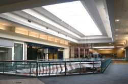A view of an upper level section of the Metrocenter Mall is tentatively scheduled to open later this month.