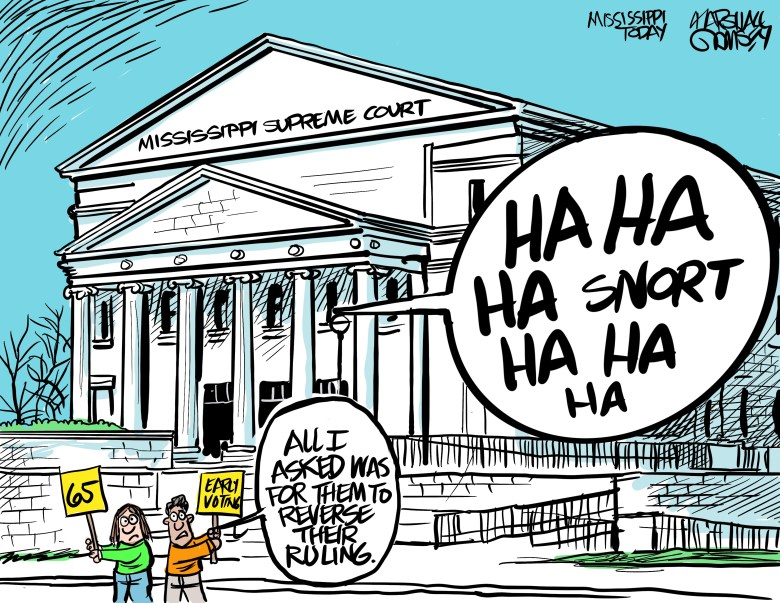 Don't think the Mississippi Supreme Court is going to change their minds anytime soon.