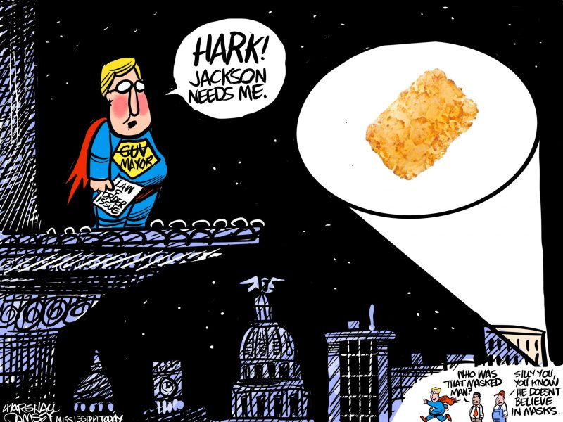 Marshall Ramsey Cartoon: Jackson