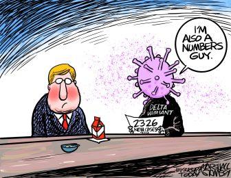 Marshall Ramsey Cartoon: The Numbers Guy