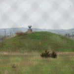 One of the old bunkers at the Savanna Depot