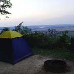 Camping at Wyalusing State Park