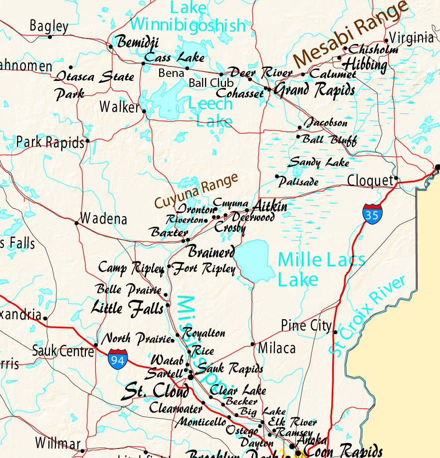 Mississippi River Travel In Minnesota