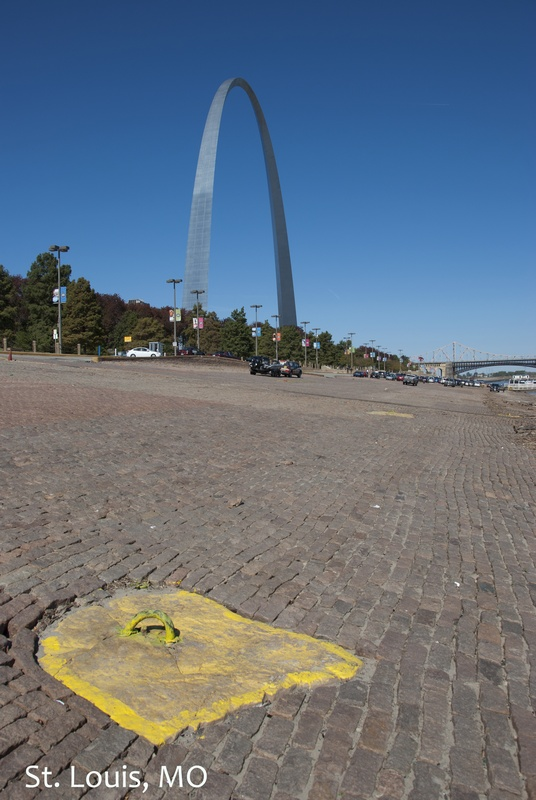 The Arch from the St. Louis levee