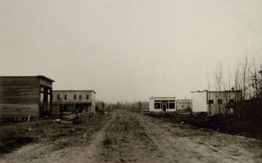 Deerwood, Minnesota circa 1914; courtesy of the Cuyuna Iron Range Heritage Network