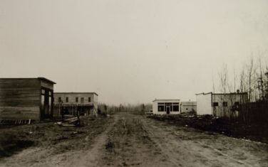 Deerwood, Minnesota circa 1914; courtesy of the Cuyuna Iron Range Heritage Network