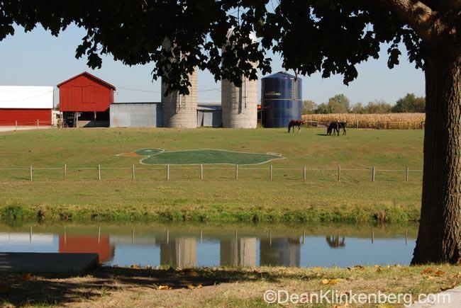MallardFest golf target; Hanover, IL