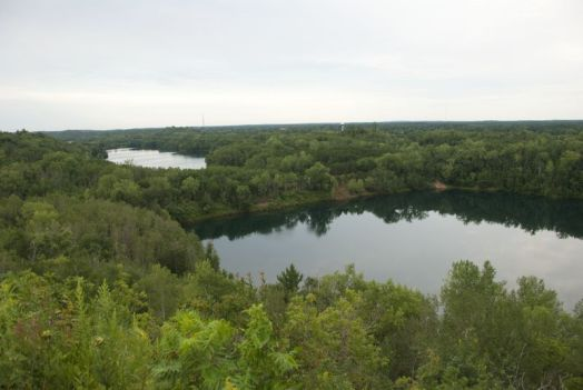 Cuyuna State Recreation Area overlook, near Ironton, Minnesota