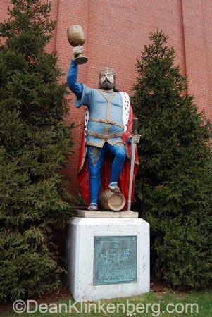King Gambrinus statue; La Crosse, WI