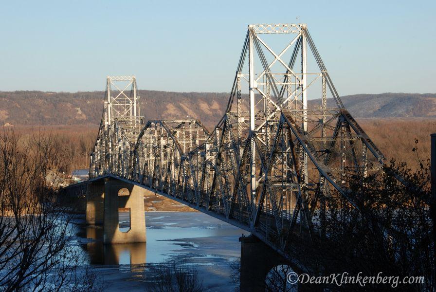 Black Hawk Bridge; Lansing, IA