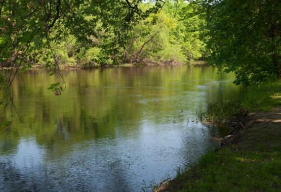 Mississippi River at Aitkin, Minnesota