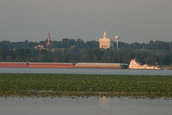 Nauvoo, IL from Montrose