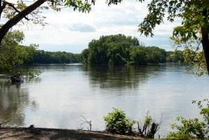 Mississippi River at Fridley