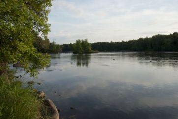 Mississippi River at Sauk Rapids
