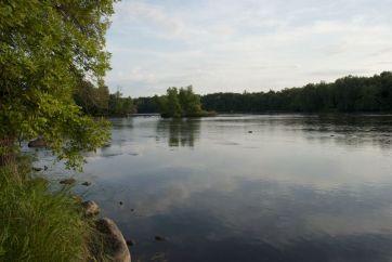 Mississippi River at Sauk Rapids