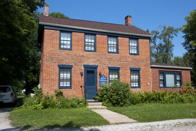 Restored house; Nauvoo, IL