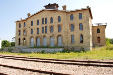 The former Dousman Hotel, also awaiting restoration