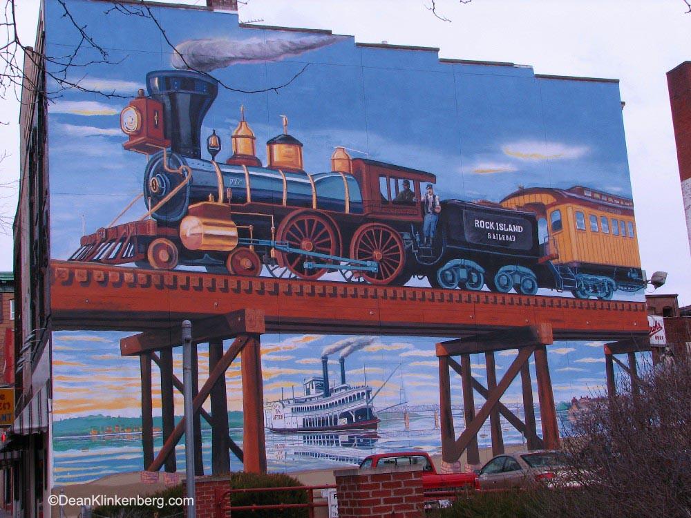 Mural; Rock Island, IL