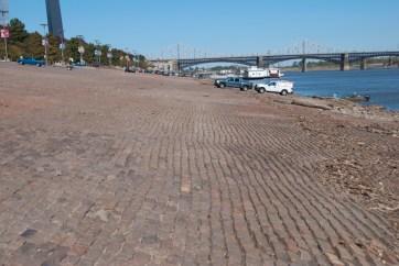 The original 1840s levee