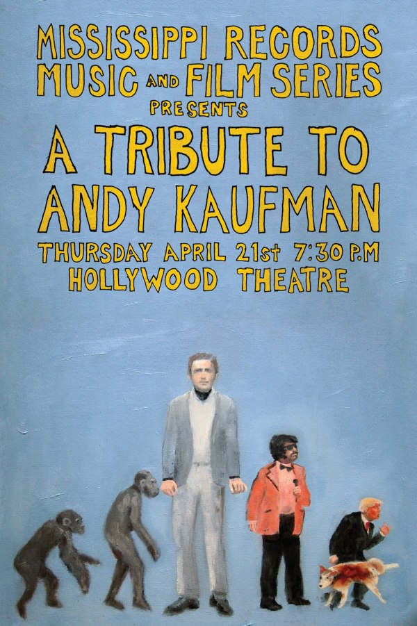 Tribute to Andy Kaufman Postcard