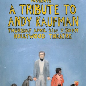 Tribute to Andy Kaufman Postcard