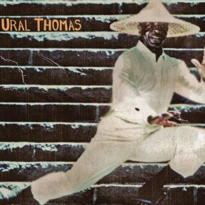 Ural Thomas on the Steps Postcard
