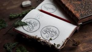 Carnet de croquis des commandes personnalisées de l'atelier de la Lettre aux ours - Missive to Bears, artisanat français et écologique en Normandie