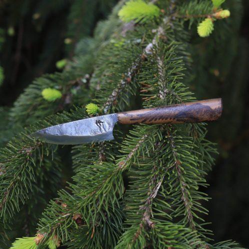 Couteau, corbeau, odin, huginn, muninn, forge, artisanal, la lettre aux ours, asgeir, normandie