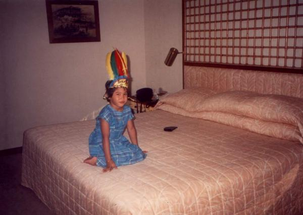Eighties baby ! Picture taken by my mum circa 1986 in Singapore