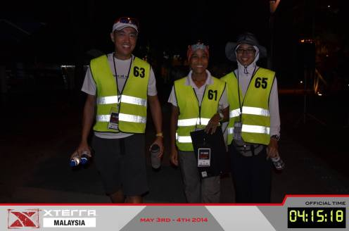 Serving in Xterra Malaysia