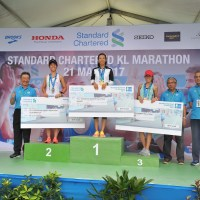 Almost 36,000 runners at 9th Standard Chartered KL Marathon - Kenyan Cosmas romps home in personal best
