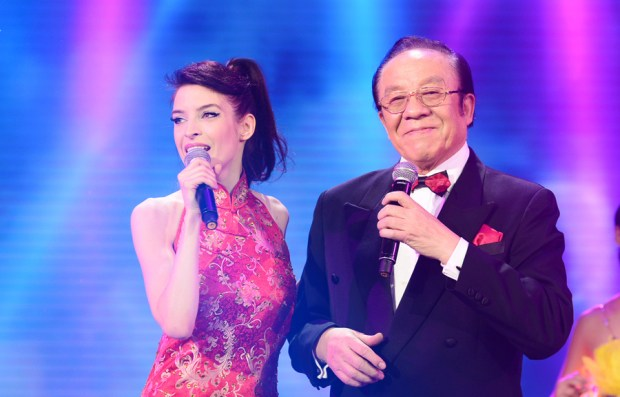 Miss Katalin Mr Yang Spring Festival 2015