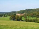 Chatsworth aus der Ferne