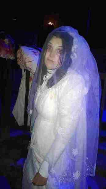 Die Braut, die sich nicht traut....