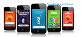 Für Kinder und Erwachsene gibt es unterschiedlich Apps. Hier: Kinder-App von iBitz / Quelle: www.ibitz.com