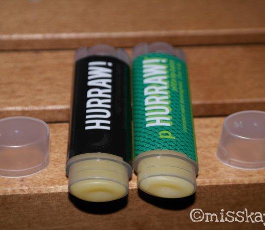 Hurraw! Balm Pitta Lip Balm, Coconut Mint Lemongrass und Night Treatment