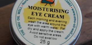 Review Emu Oil Well Moisturising Eye Cream
